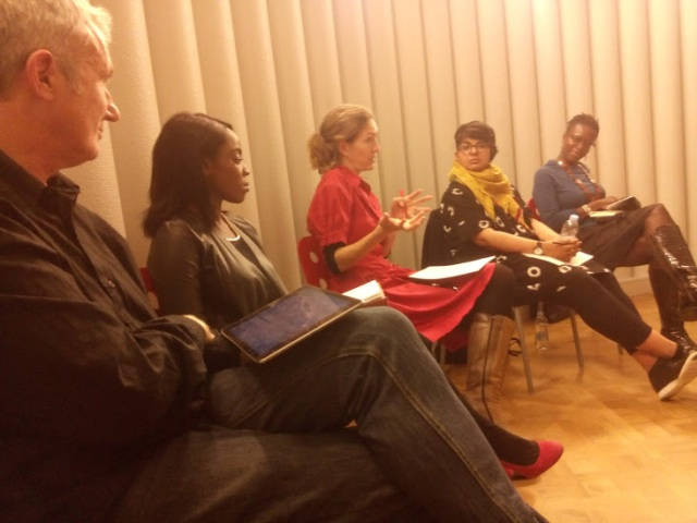 l. to r.: Mark Waugh, Tania Rufus-Phipps, Sarah Teasley, Arti Sandhu, Landé Pratt